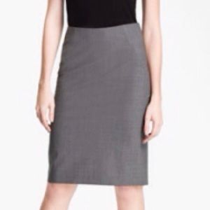 Theory Golda Suit Pencil Skirt